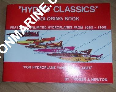 Hydroplane Coloring Book